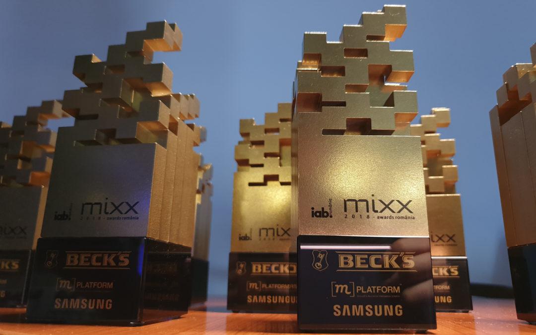 IAB Romania anunta castigatorii IAB MIXX Awards 2018!