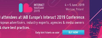 IAB Europe anunță primii speakeri pentru Interact 2019